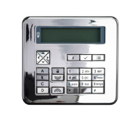 KEY-FKPZ-PC- Flush mount keypad - polished chrome finish.